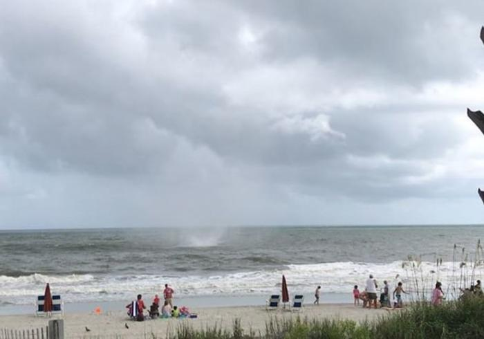 South Carolina Waterspout Turns Into Small One News Page