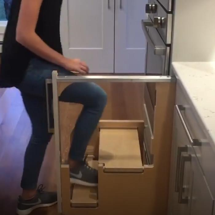 Fold Out Kitchen Stairs Make It Possible To One News