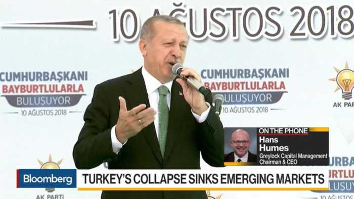 Turkey Has Been Mismanaging Economy for a While, Says Greylock's CEO