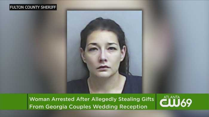 Woman Arrested After Allegedly Stealing Gifts From Georgia Couples Wedding Reception