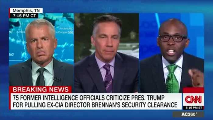 Anti-Trump CNN Guy Goes Off On Conservative Commentator