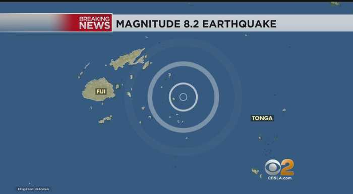 6.3-Magnitude Earthquake Rocks Indonesia's Lombok Island, Third In As Many Weeks; 8.2 Quake Strikes Off Coast Of Fiji