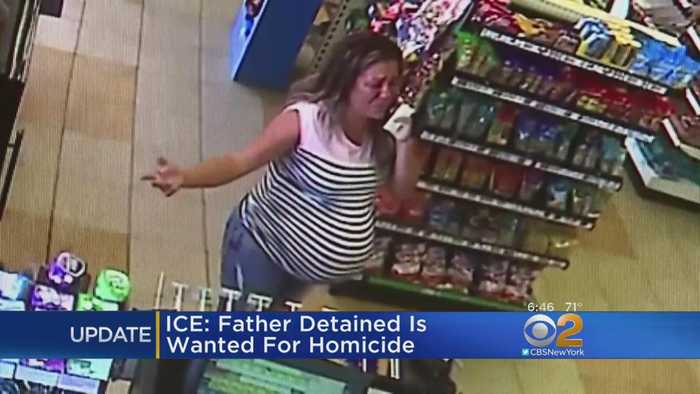 ICE: Father Detained Was Wanted For Homicide