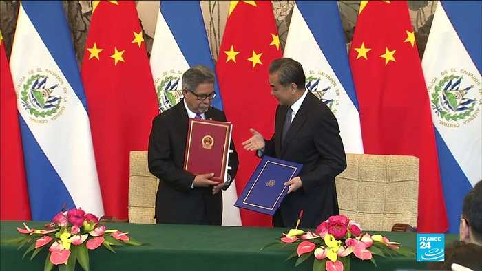 El Salvador becomes third country to break ties with Taiwan in favour of China
