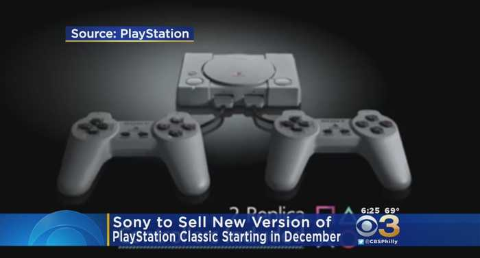 Sony To Sell New Version Of PlayStation Classic Starting In December