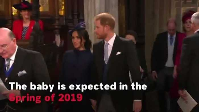 Prince Harry And Meghan Markle Announce They Are Expecting A Baby