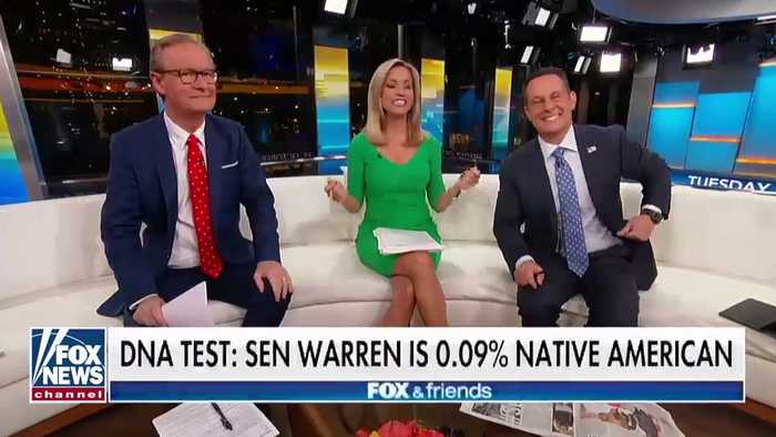 Trump Again Goes After Warren: Her 'False' Native American Claim Selling Only To 'Very Low I.Q. Individuals'