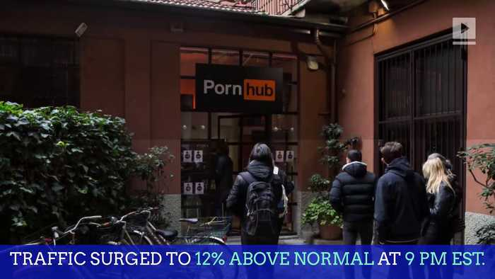 Online Traffic for Pornhub Surged During YouTube Outage