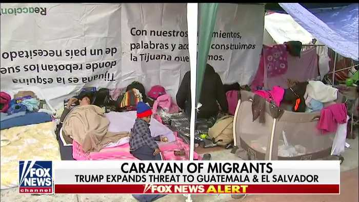 Trump Threatens To Use U.S. Military To Protect Country From Migrant Caravan Of 4,000