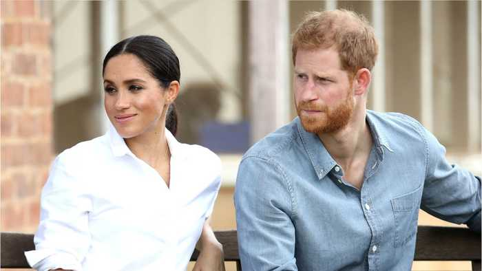 Why Is Prince Harry Wearing A Black Ring?