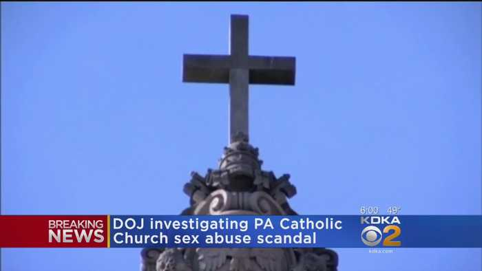 Federal Prosecutors Open Clergy Abuse Probe In Pa.