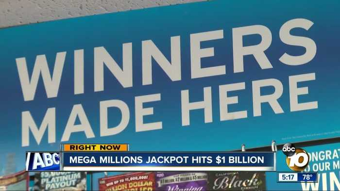 Mega Millions jackpot hits $1 billion