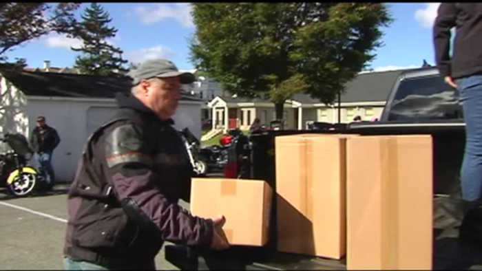 VIDEO Bros Motorcycle Club makes annual toy run in Reading