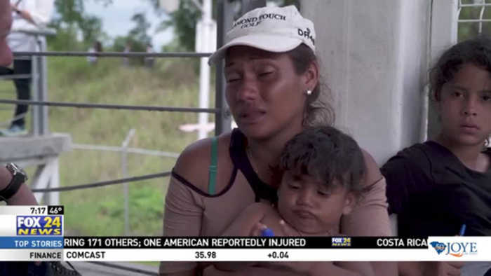 Honduran Caravan Seek Refuge in Mexico and U.S.