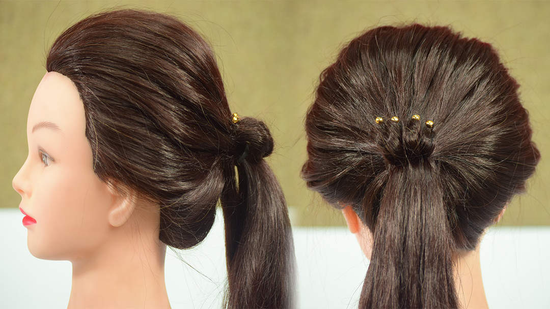 Hairstyle Tutorial Simple Ponytail Hairstyles One News Page Video