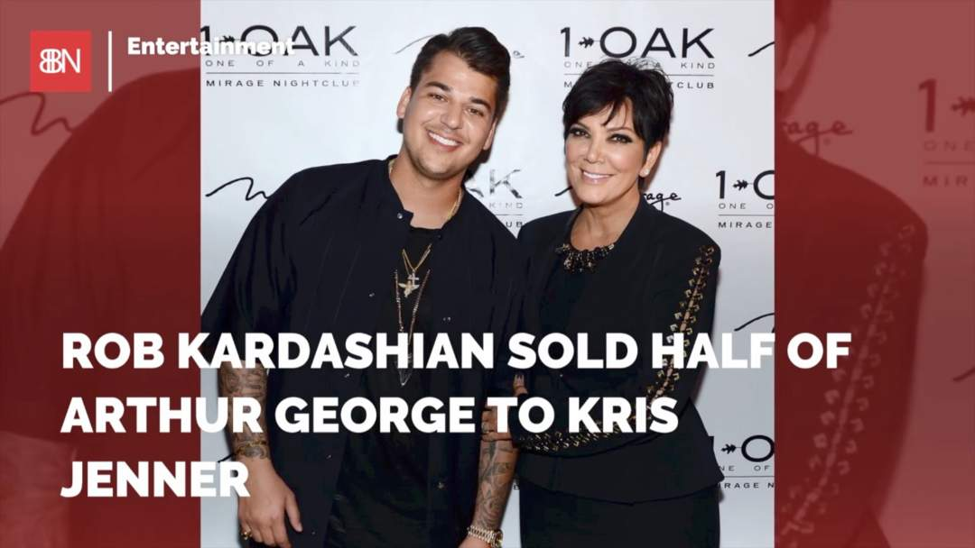 Zeer Rob Kardashian Sold His Socks To His Mom - One News Page VIDEO &BX44