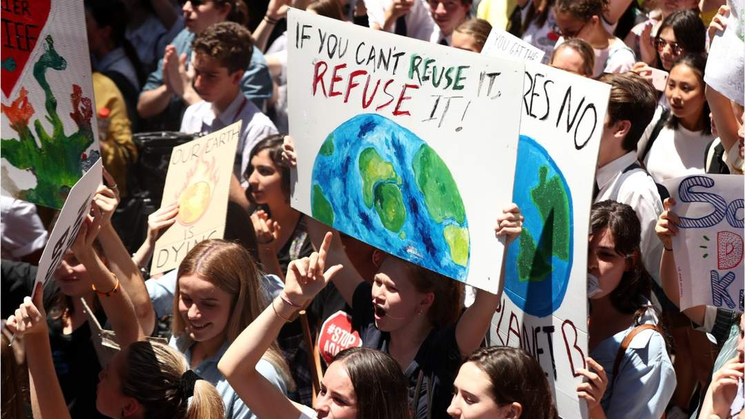 School Strike 4 Climate Twitter: Australian Kids Defy Prime Minister With Climate