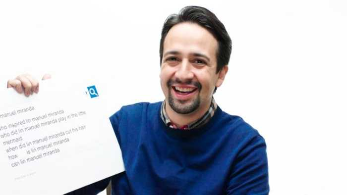 Lin-Manuel Miranda Answers the Web's Most Searched Questions