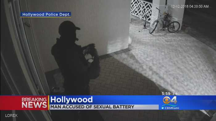 Burglary, Sexual Battery Suspect Sought In Hollywood