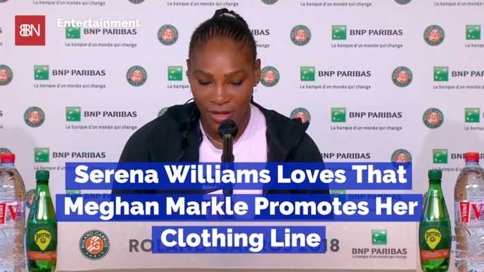 Serena Williams Is Very Happy About Help From Friend Duchess Meghan