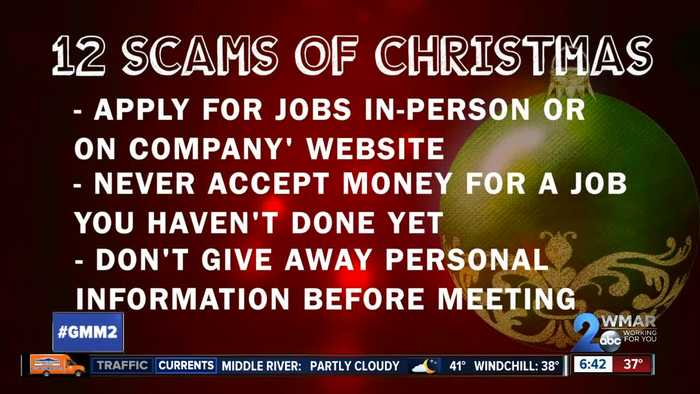 12 Scams of Christmas: Temporary job scams