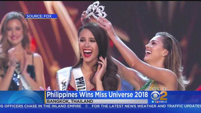 Miss Philippines Named Miss Universe 2018