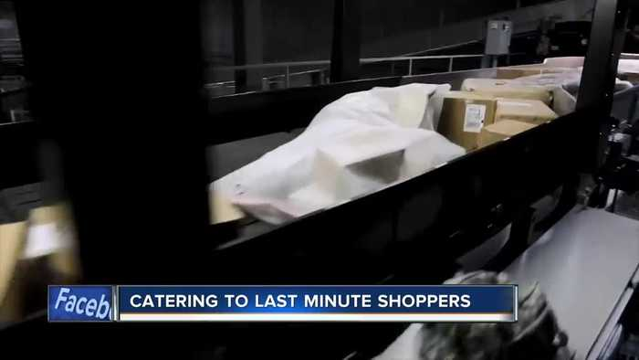 Retailers cater to last-minute shoppers