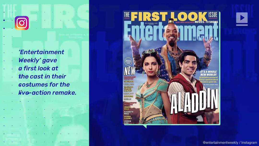 Will Smith S Genie From Aladdin Receives One News Page Video