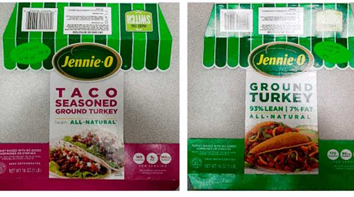 After Salmonella Outbreak, Jennie-O Turkey Store Recalls 164,000 Pounds Of Ground Turkey