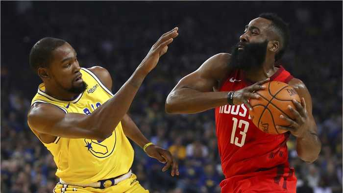 Harden Leads Houston Passed Golden State