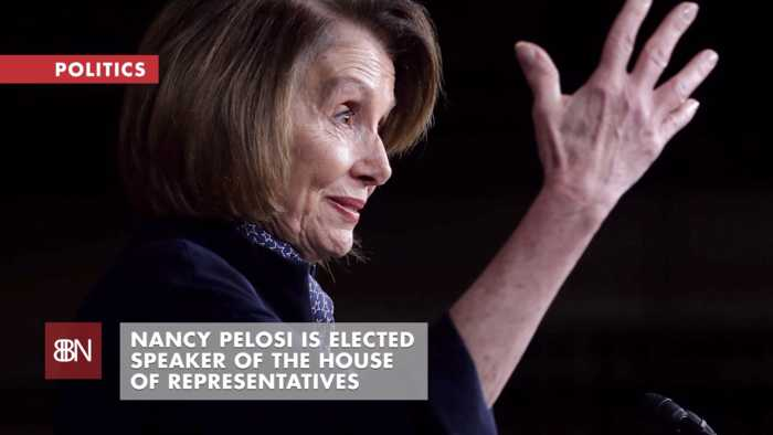 Nancy Pelosi Is Elected Speaker Of The House: Now What ?