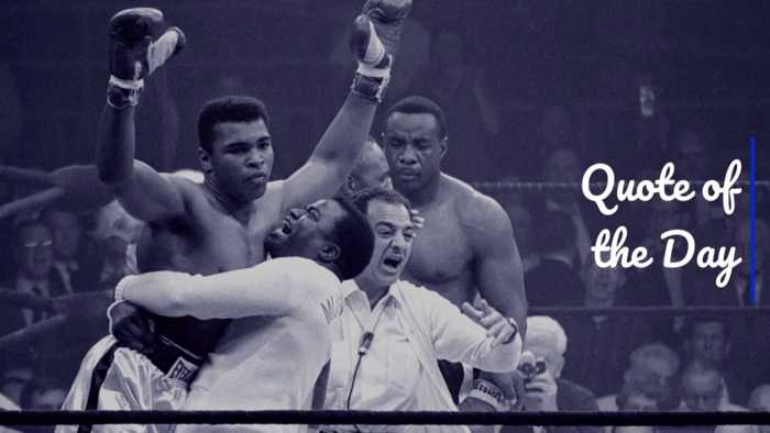 Muhammad Ali: Thought Of The Day