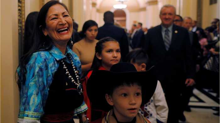 Deb Haaland Is One Of The First Two Native American Congresswomen