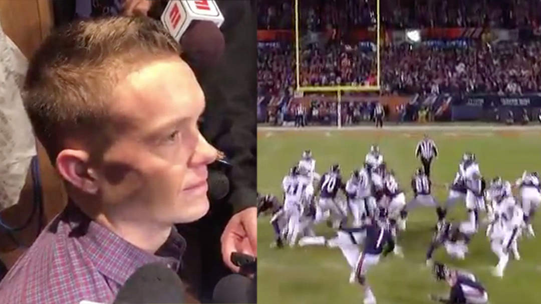 Bears Kicker Cody Parkey Gets Demolished On One News Page Video