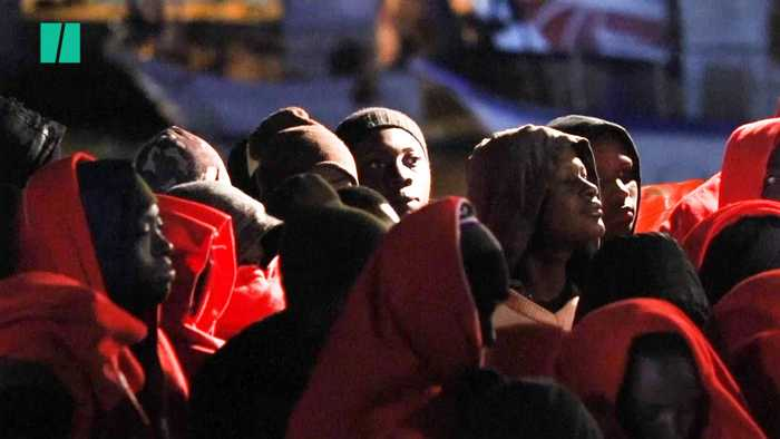 Over 200 Rescued Trying To Cross The Mediterranean Sea