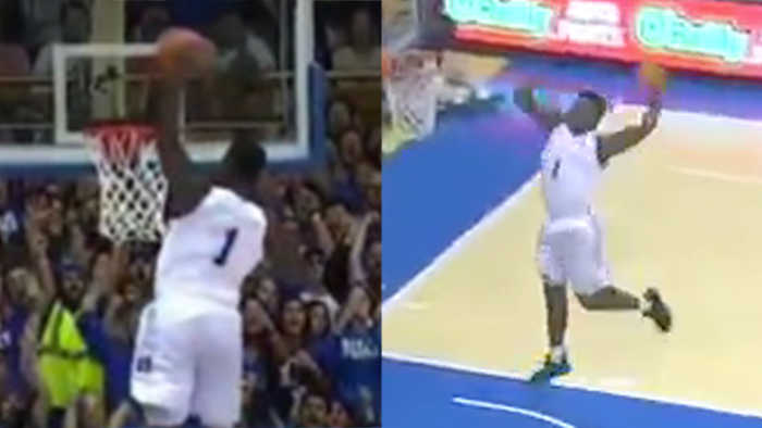 Twitter EXPLODES After Zion Williamson's AMAZING 360 Dunk!