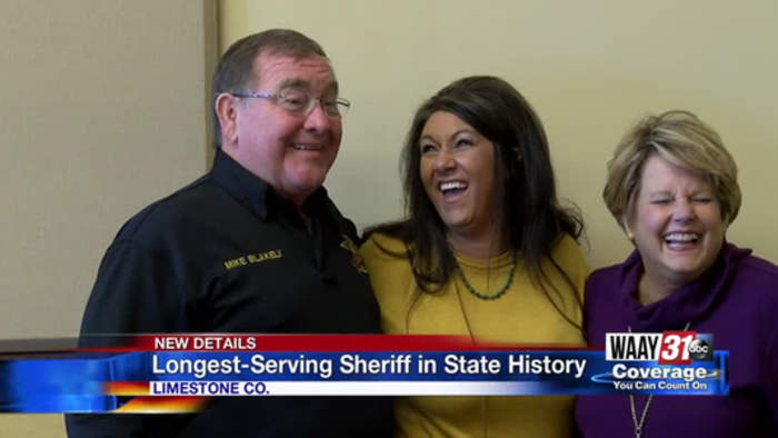 Mike Blakely Longest Serving Sheriff in State History