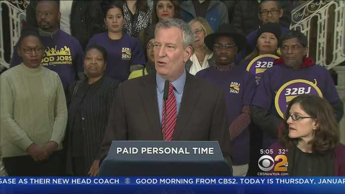 Mayor De Blasio To Deliver 'State Of The City' Address Today