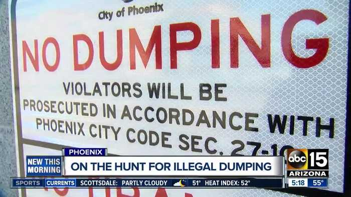 Phoenix officials on the hunt for illegal dumpers