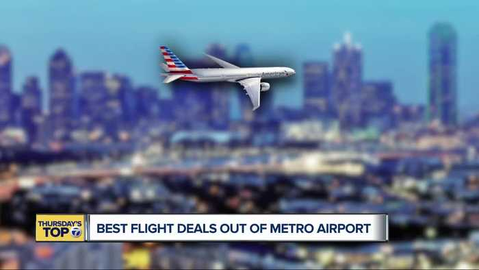 Thursday's Top 7: Best flight deals out of Detroit Metro Airport