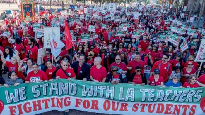 Los Angeles Teachers Strike Delayed