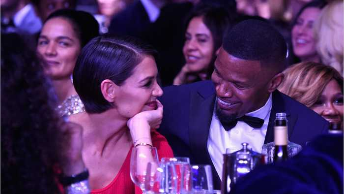 Katie Holmes And Jamie Foxx  Are Not Secretly Married