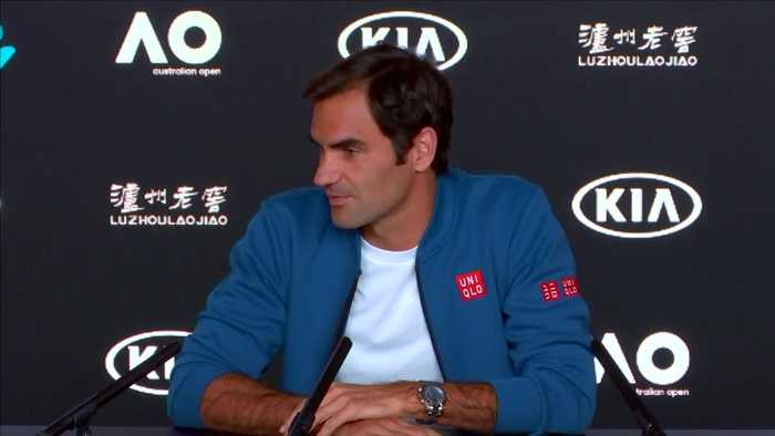 Federer pays tribute to Murray on eve of Australian Open