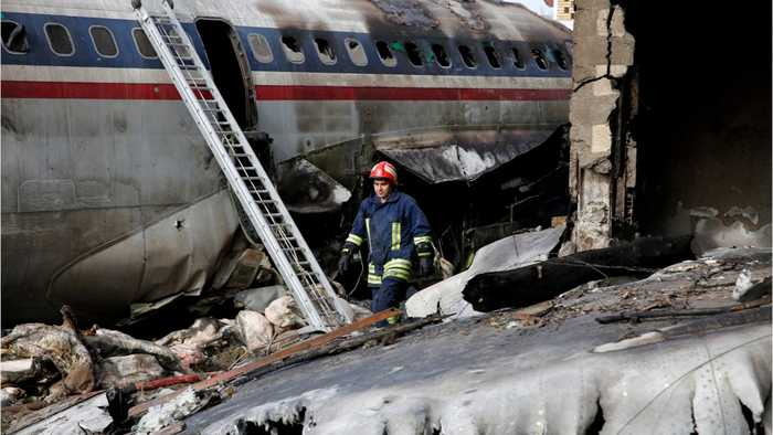 Iranian Military Plane Crashes, 15 Dead