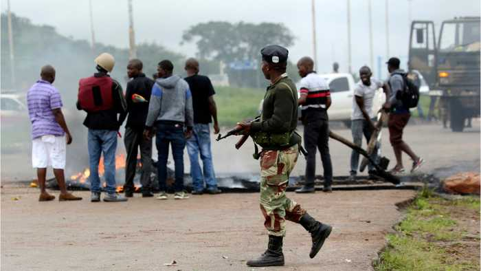 Zimbabwe Streets Patroled After Deadly Protests Over Economy