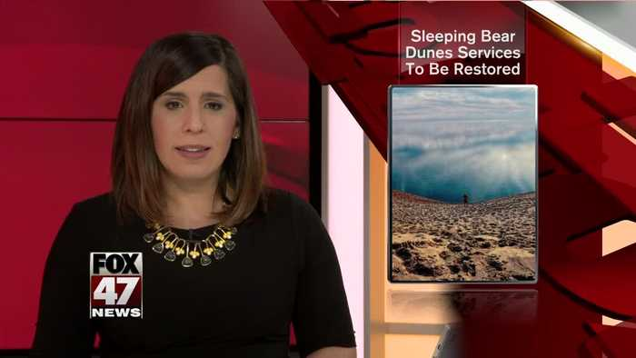 Services to be restored at Sleeping Bear Dunes lakeshore