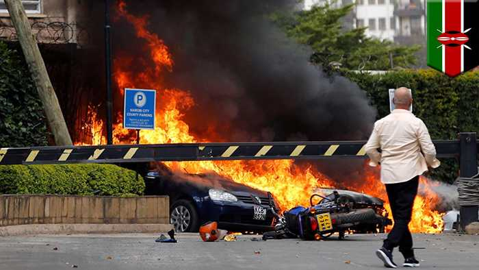 Deadly Nairobi hotel attack carried out by suspected Somali militants