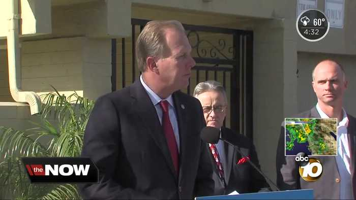 San Diego mayor to deliver State of the City