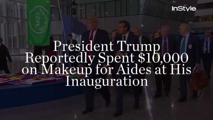 President Trump Reportedly Spent $10,000 on Makeup for Aides at His Inauguration