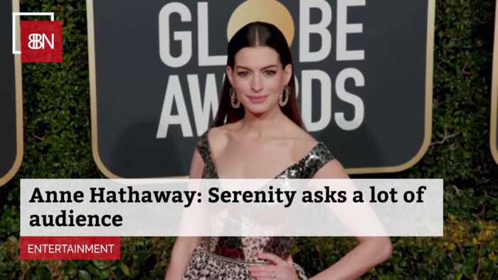 Anne Hathaway Doesn't Think 'Serenity' Is An Ordinary Film